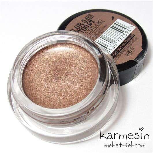 Maybelline Jade Eyestudio Color Tattoo 24HR Gel-Cream Eyeshadow, Farbe: 35 On And On Bronze