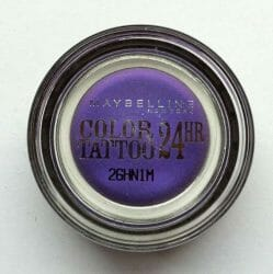 Produktbild zu Maybelline New York Eyestudio Color Tattoo 24HR Gel-Cream Eyeshadow – Farbe: 15 Endless Purple