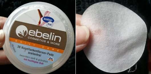 ebelin 30 Nagellackentferner-Pads acetonfrei