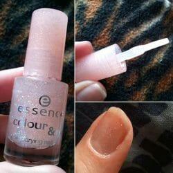 Produktbild zu essence colour & go quick drying nail polish – Farbe: 04 space queen