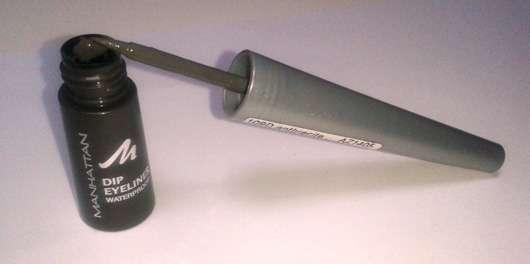 Manhattan Dip Eyeliner Waterproof, Farbe: 109D anthracite
