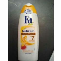 Produktbild zu Fa NutriSkin Weißer Pfirsich Duschcreme
