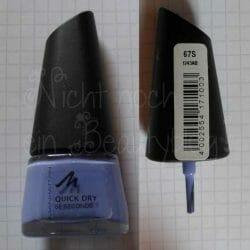 Produktbild zu MANHATTAN Quick Dry 60 Seconds Nail Polish – Farbe: 67S