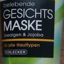Naturé belebende Gesichtsmaske Seealgen & Jojoba