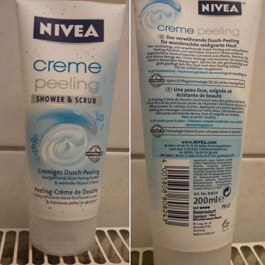 Nivea Creme Peeling Shower & Scrub Cremiges Dusch-Peeling