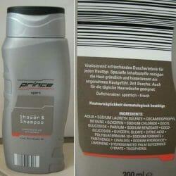 Produktbild zu Prince Sport Shower & Shampoo