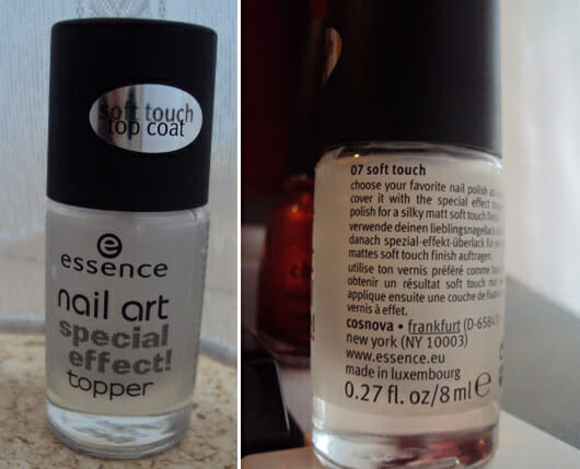 essence nail art special effect topper, Farbe: 07 soft touch