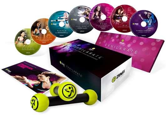 5 x 1 Zumba® Fitness Exhilarate™ DVD-Programm zu gewinnen