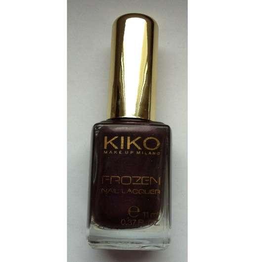 Kiko Frozen Nail Lacquer, Farbe: Beere (LE)
