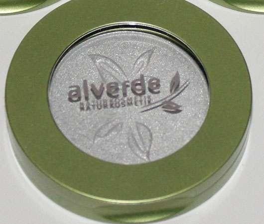 alverde Modern Art Mono Lidschatten, Farbe: 10 Silver Rain (LE)