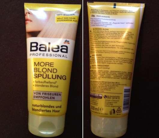 Balea Professional More Blond Spülung
