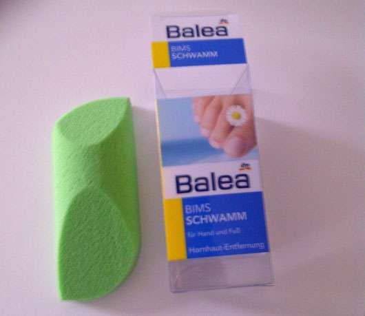 Balea Bimsschwamm für Hand und Fuß