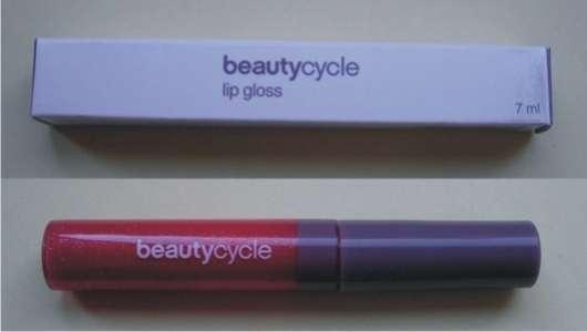 beautycycle lipgloss, Farbe: garnet