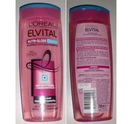 L'Oréal Paris Elvital Nutri-Gloss Cystal Schönheitspflege-Shampoo