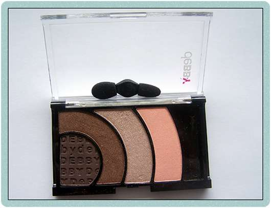 debby colorcase quad eyeshadow, Farbe: 05 brown must have
