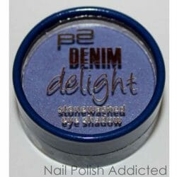 Produktbild zu p2 cosmetics denim delight stonewashed eye shadow – Farbe: 020 blue impact (LE)