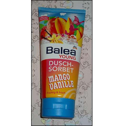 Balea Young Dusch-Sorbet Mango Vanille (Limited Edition)