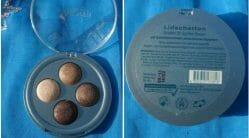 Produktbild zu Alterra Naturkosmetik Lidschatten Quattro – Farbe: 02 Golden Brown