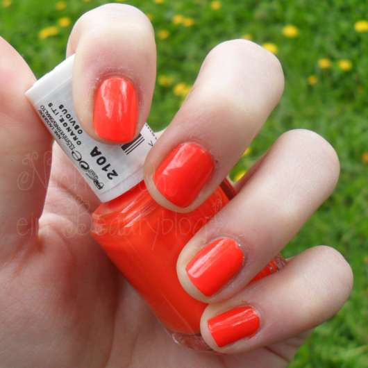 essie Nagellack, Farbe: 210A Orange, It's Obvious (Spring Collection 2012)
