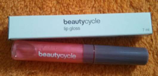 beautycycle lipgloss, Farbe: fire gem