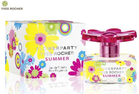 FLOWERPARTY YVES ROCHER SUMMER