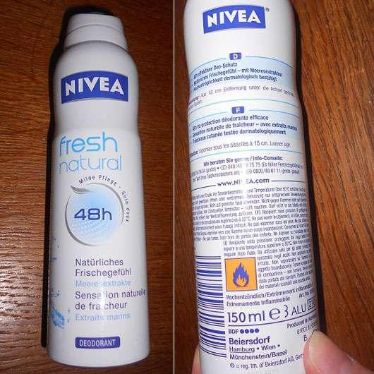 Nivea fresh natural 48h Deodorant