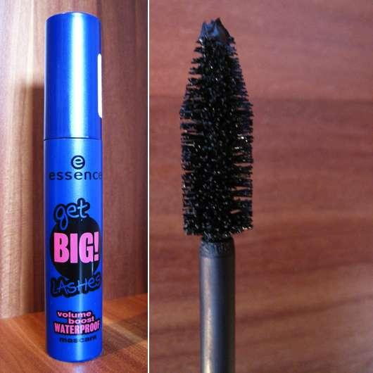 essence get BIG! lashes volume boost waterproof mascara