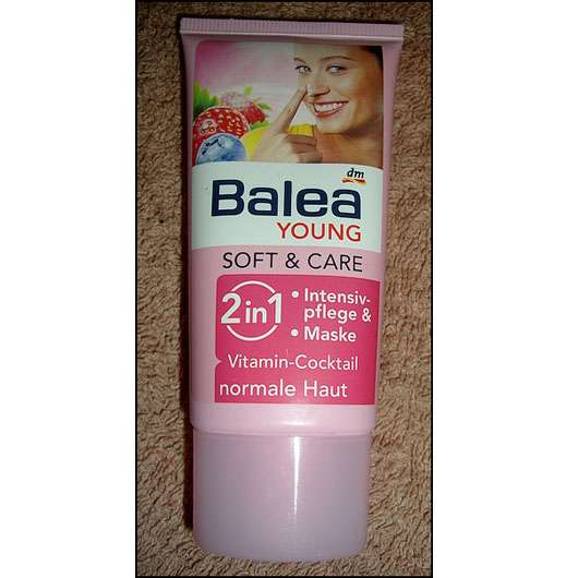 <strong>Balea Young Soft & Care</strong> 2in1 Intensivpflege & Maske