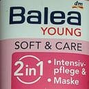 Balea Young Soft & Care 2in1 Intensivpflege & Maske