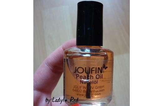 <strong>Jolifin</strong> Peach Oil Nagelöl