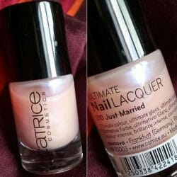 Produktbild zu Catrice Ultimate Nail Lacquer – Farbe: 210 Just Married
