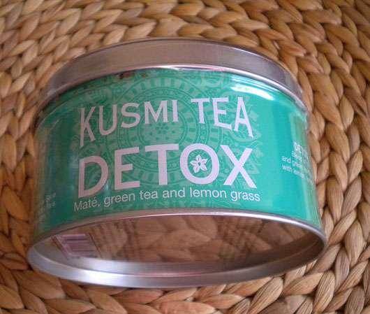 <strong>KUSMI TEA</strong> DETOX Mate- und Grüntee aromatisiert mit Zitronengras