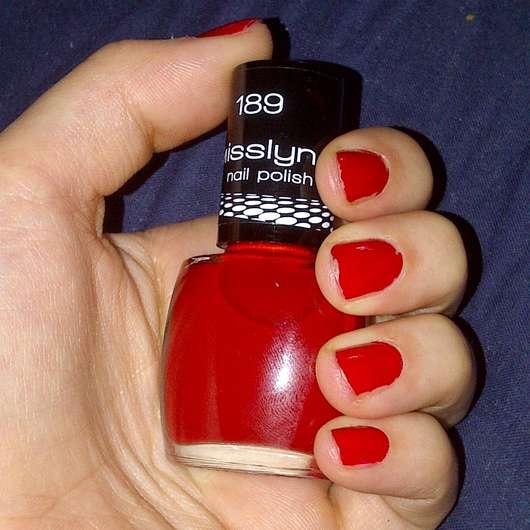 <strong>Misslyn</strong> nail polish - Farbe: 189 Matador