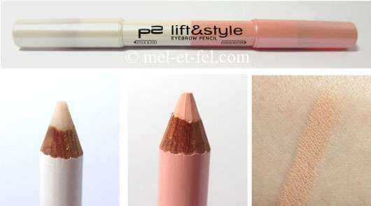 p2 lift & style eyebrow pencil