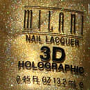 Milani Nail Lacquer 3D Holographic, Farbe: 510 3D Gold