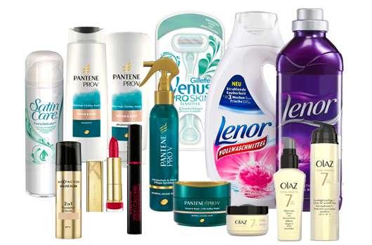 Gewinne 3 x 1 P&G Beauty- & Wohlfühl-Produktset