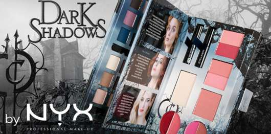 NYX Dark Shadows Palette