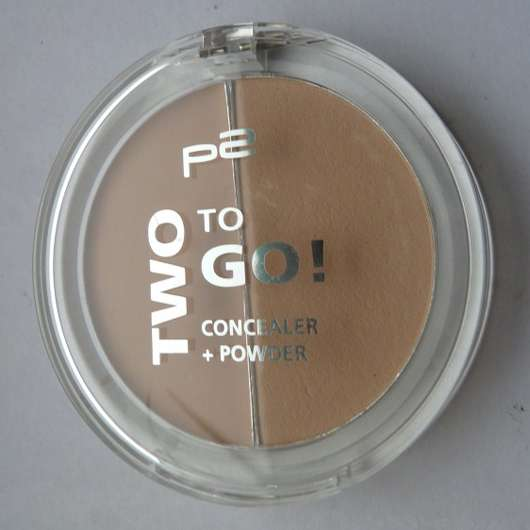 p2 two to go! concealer + powder, Farbe: 010 perfect on the way!