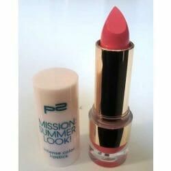 Produktbild zu p2 cosmetics mission summer look! intense colour lipstick – Farbe: 020 pretty in pink (LE)