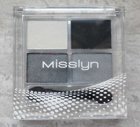 <strong>Misslyn</strong> Quattro Eyeshadow - Farbe: 55 Smokey Eyes