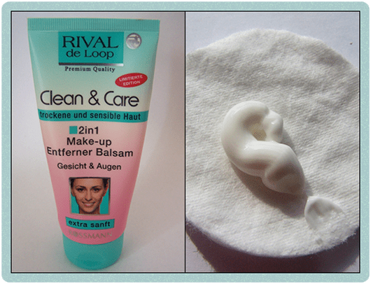 Rival de Loop Clean & Care 2in1 Make up Entferner Balsam