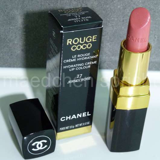 Chanel Rouge Coco Hydrating Crème Lip Colour, Farbe: 77 Jersey Rose