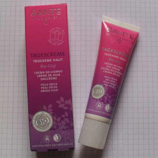 Sante Tagescreme Bio-Goji für trockene Haut