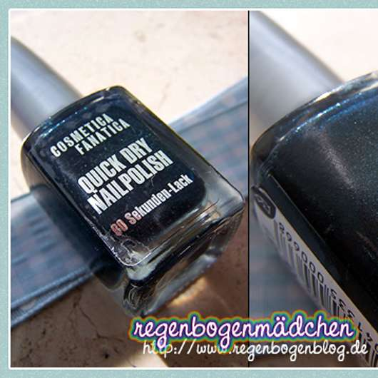 <strong>Cosmetica Fanatica</strong> Quick Dry Nail Polish - Farbe: 45-189.1