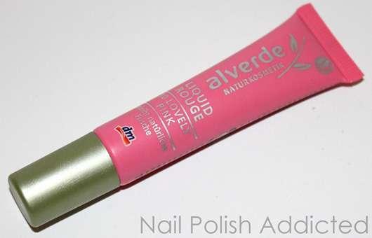 alverde Liquid Rouge, Farbe: 10 Lovely Pink