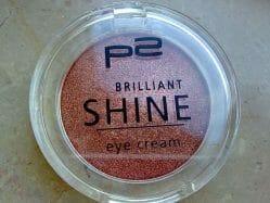 Produktbild zu p2 cosmetics brilliant shine eye cream – Farbe: 050 cheeky copper