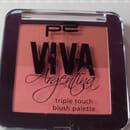 p2 viva argentina triple touch blush palette, Farbe: 010 chica guapa (LE)