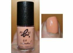 Produktbild zu agnès b. mini b. 40 seconds nail polish – Farbe: Orange-Sunset (LE)