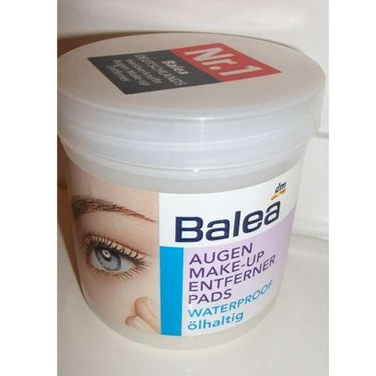 Balea Augen Make-up Entferner Pads waterproof ölhaltig