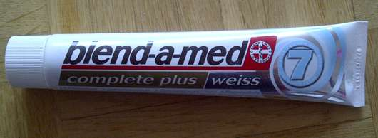 blend-a-med complete plus weiss Zahncreme